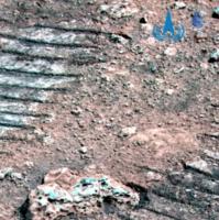 祝融号已行驶54个火星日,带你看火岩火尘火沙
